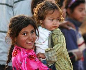 Irak'ta Sıcak Havalar Muhacir Çocukları Vuruyor