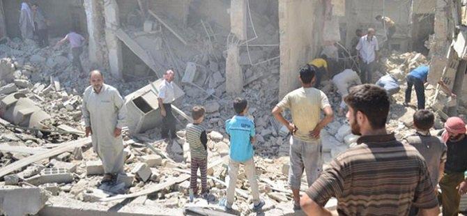 Zebadani'ye Ağır Hava Saldırısı