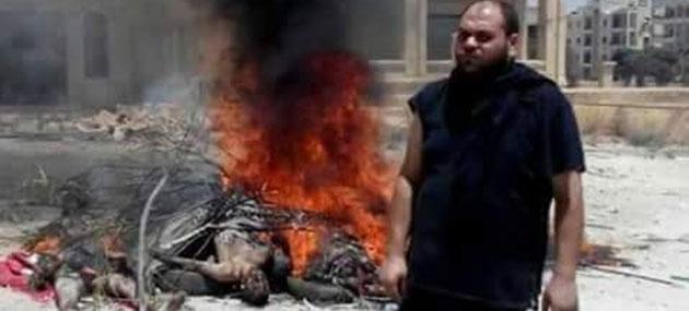 Rejim, Ölen Muhalifleri Yakıyor