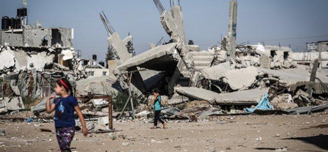 Siyonist İsrail'in Gazze Saldırılarının Birinci Yılı