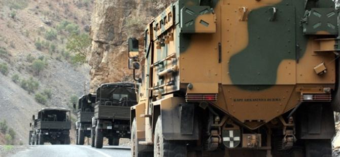 Baraj Güvenliğini Sağlayan Askerî Araca PKK Saldırısı