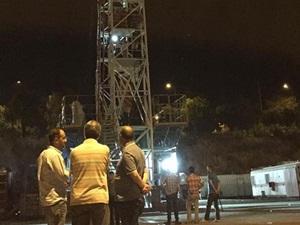 Batman'da İşçiler Petrol Üretim Kulesinde Eylem Yaptı