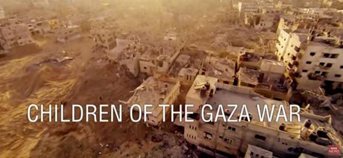 BBC'den Gazze Belgeselinde İsrail Propagandası