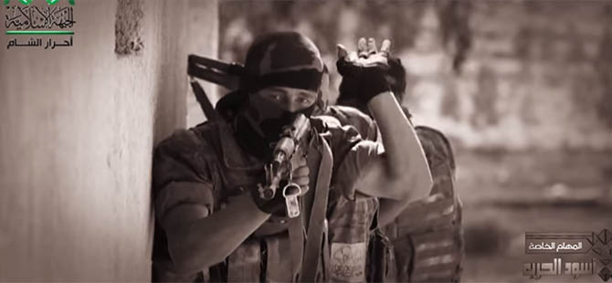 Ahraruş Şam Yeni Bir Klip Yayınladı