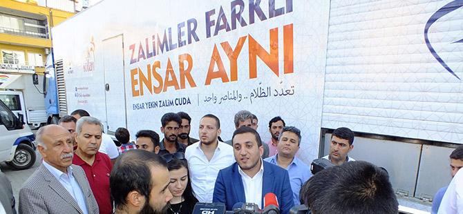 """AK Parti Gençliğinden """"Zalimler Farklı, Ensar Aynı"""" Etkinliği"""