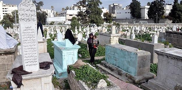 """Müslüman Mezarlığına Yahudi """"İşgal Birimi""""!"""