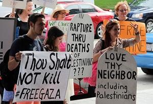 "ABD'de İsrail Protestosu: ""Filistin İşgalini Sona Erdirin!"""