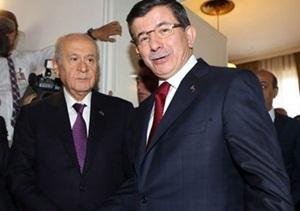 """""""MHP'nin Teklifi, Davutoğlu'nun Duruşu"""""""