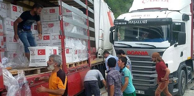 Türk Kızılayı'ndan Suriye'ye Bayram Yardımı