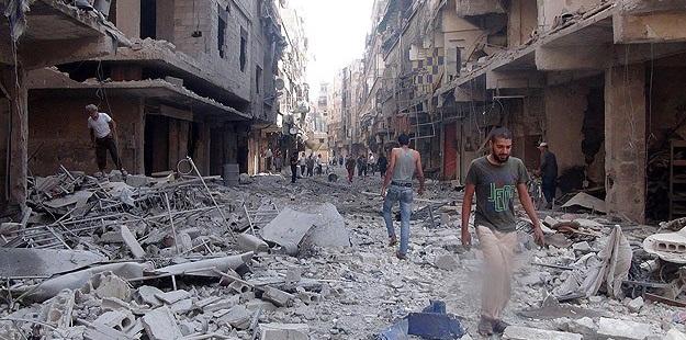 Yermuk'a Varil Bombalı Saldırı: 1 Ölü, 8 Yaralı
