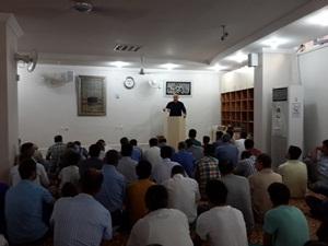 Diyarbakır Özgür-Der Bayram Namazı Kılıp Bayramlaştı