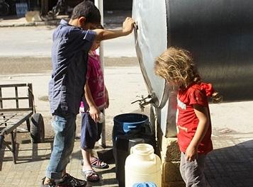 Halep 15 Gündür Susuz