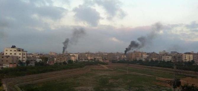 Gazze'de Eş Zamanlı Bombalı Saldırılar