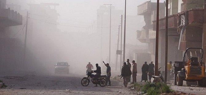 Esed Rejimi Halep'e Füze İle Saldırdı