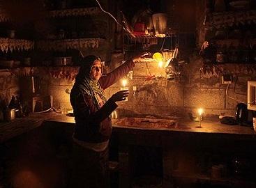 Gazze'de Elektrik Tükendi