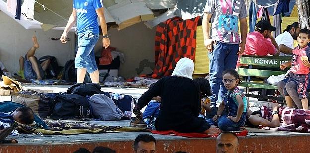 Evsiz Suriyeli Muhacirlerin Yaşam Mücadalesi
