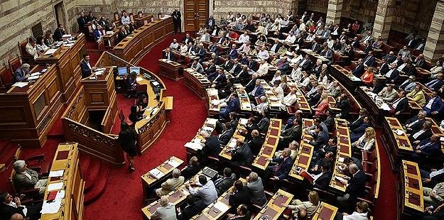 Yunanistan'da Üçüncü Kurtarma Paketi Parlamentoda