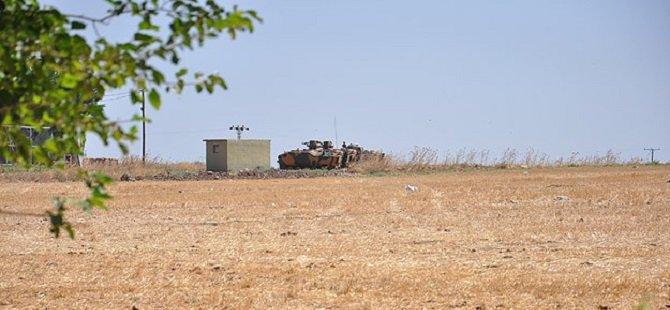 Özel Güvenlik Bölgesinde Zırhlı Araç Nöbeti