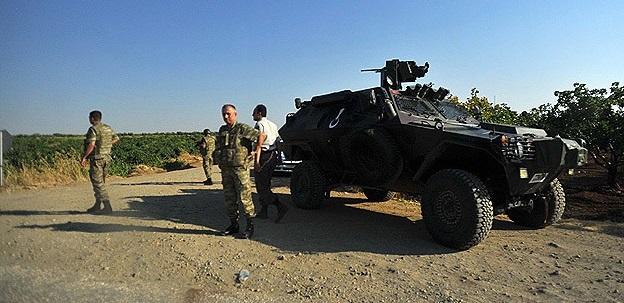 TSK Suriye Sınırını Geçip IŞİD'le Çatıştı