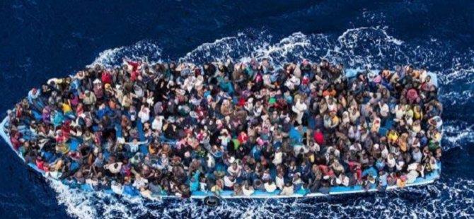 5 Ayda 2 Bin 510 Mülteci Akdeniz'de Can Verdi