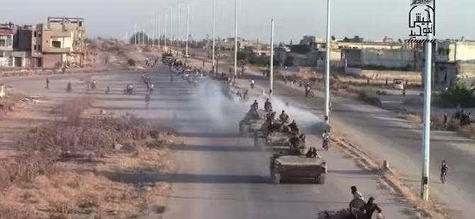 Esed Zırhlılarıyla Esed'e Gözdağı Verildi (Video)