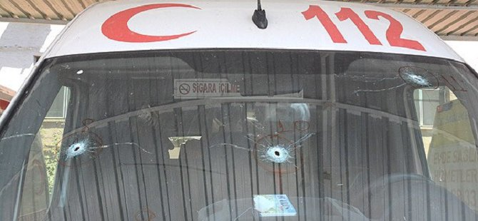 Nusaybin'de PKK 3 Ambulansı Taradı