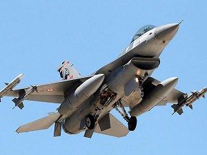 F-16'lar PKK Mevzilerini Vurdu