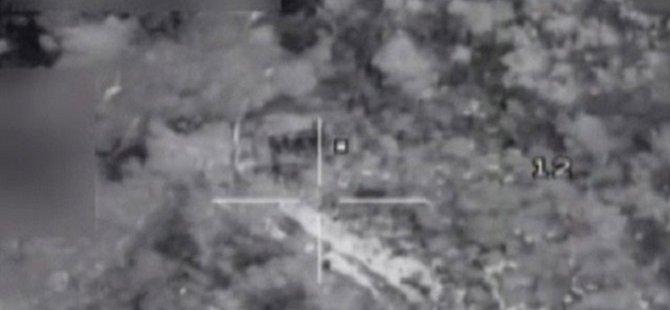 PKK Hedeflerine Hava Operasyonları Sürüyor