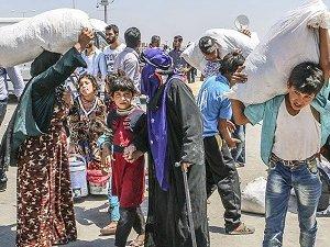 YPG Halep'te Sivilleri Göçe Zorluyor
