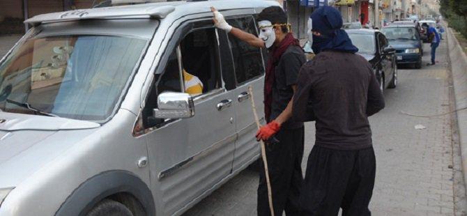 PKK Nusaybin'de Yol Kesip Kimlik Kontrolü Yaptı