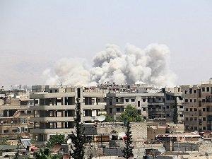 Esed Dareyya'ya 10 Günde 332 Varil Bombası Attı