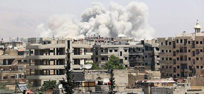Halep Rusya'nın Ağır Bombardımanı Altında