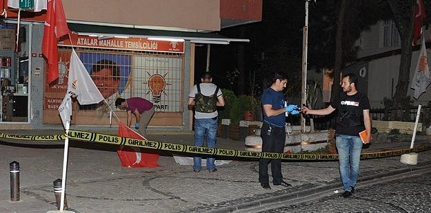 AK Parti Mahalle Temsilciliği Önünde Patlama!