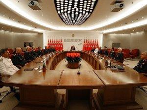 Yüksek Askeri Şura'nın İlk Gün Toplantısı Sona Erdi