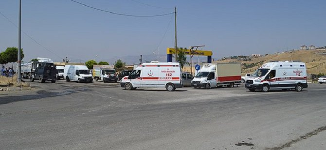 Şırnak'ta Askeri Araca Saldırı