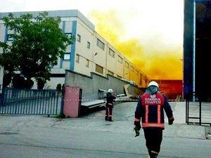 Tuzla'da Kimyasal Madde Sızıntısı