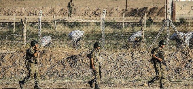 Sınırda 'Geçici Askeri Güvenlik Bölgesi'
