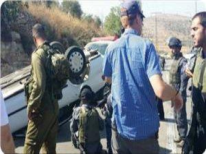 Filistinli Gencin Otomobiliyle Çarptığı 3 İşgalci Yaralandı