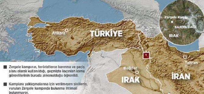 Zergele Kampı PKK'nın Saklanma ve Geçiş Alanı
