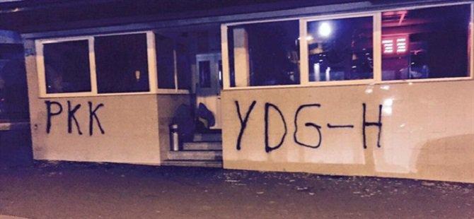 Almanya'da PKK'lılar Cami Lokaline Saldırdı