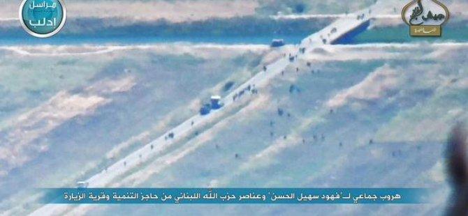 Süheyl El Hasan Askerleriyle Kaçıyor