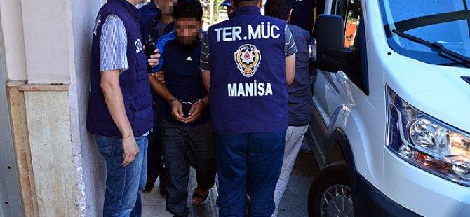 Manisa'daki 19 Kişiye IŞİD'ten Tutuklama