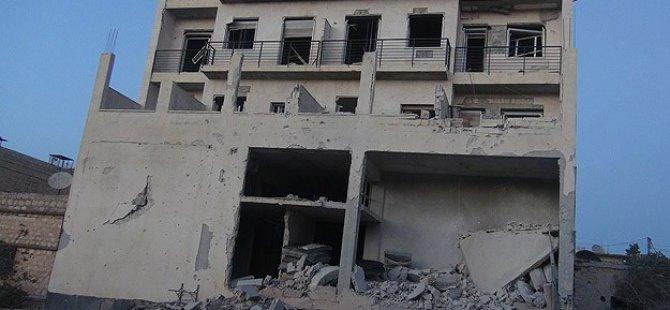 Esed Güçleri Sahra Hastanesini Bombaladı