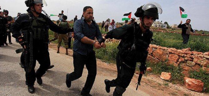 Siyonistlerin Filistinlilere Yönelik Gözaltıları Sürüyor