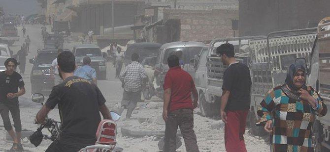 Esed Ordusu Pazar Yerini Bombaladı: 30 Ölü