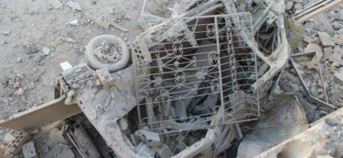 İmkander Ambulansları İdlib'te Vuruldu