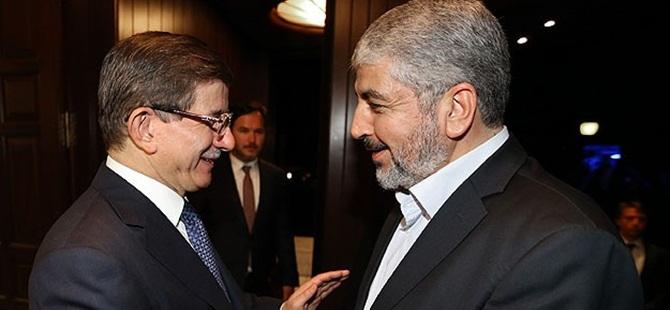Ahmet Davutoğlu Halid Meşal ile Görüştü