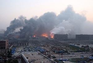 Çin'de Büyük Patlama: 17 Ölü, 315 Yaralı