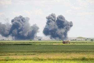 Koalisyon Güçleri Halep'teki IŞİD Hedeflerini Vurdu
