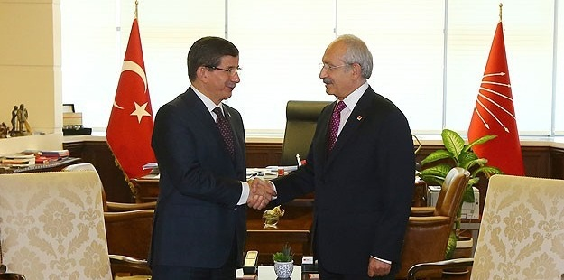 Davutoğlu ile Kılıçdaroğlu Bugün Görüşecek